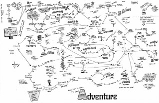 Adventure Map (1987, hand-drawn) | by kriegsman