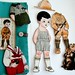 Fabric Paper Doll Gift Set - American Boy