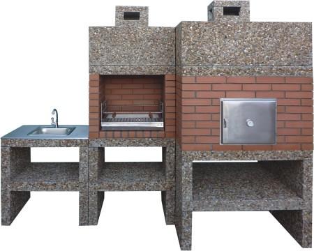 Av930f brick barbecue diy brick - Barbacoas de ladrillo ...