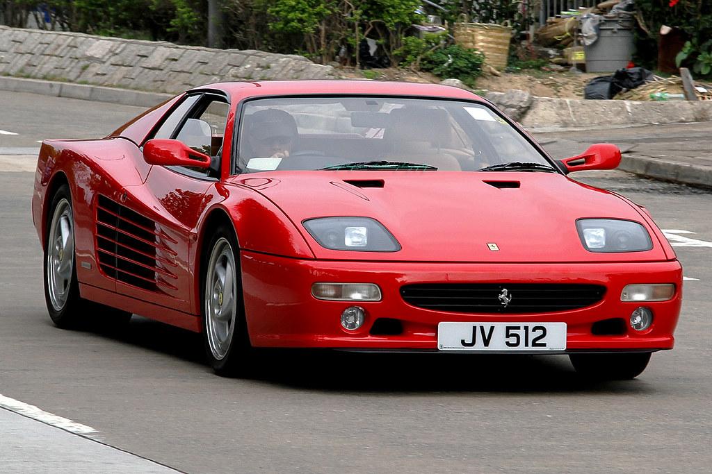 "Ferrari Testarossa 512M, ""JV 512"", Tai Mei Tuk, Hong Kong | Flickr"