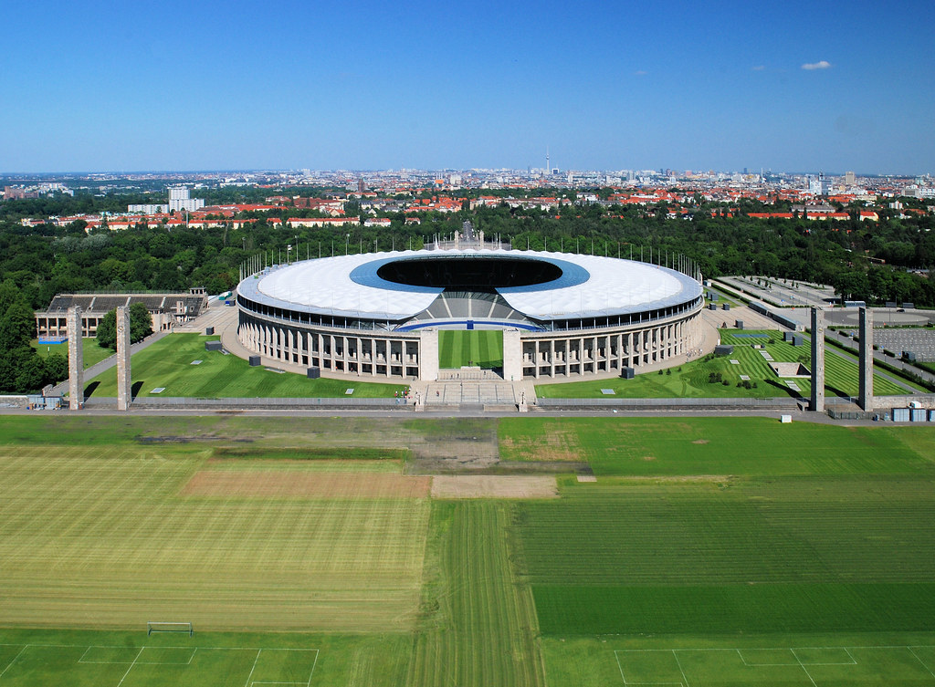 Berliner Olympiastadion Plätze