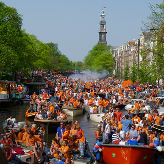 Q-day on the canals of Amsterdam | by B℮n