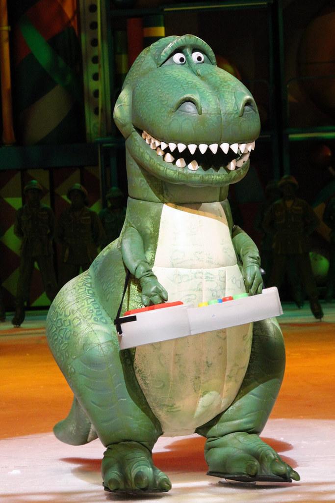 Disney on ice toy story 3 wells fargo center philadelph flickr - Dinosaure toy story ...