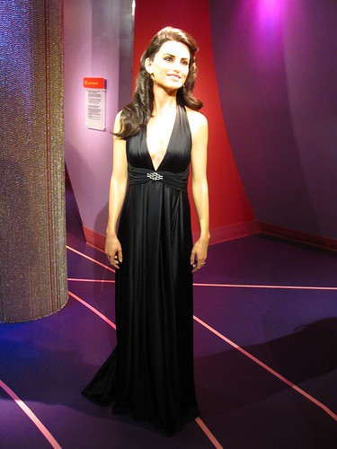 Penelope Cruz figure at Madame Tussauds Hollywood | by Castles, Capes & Clones