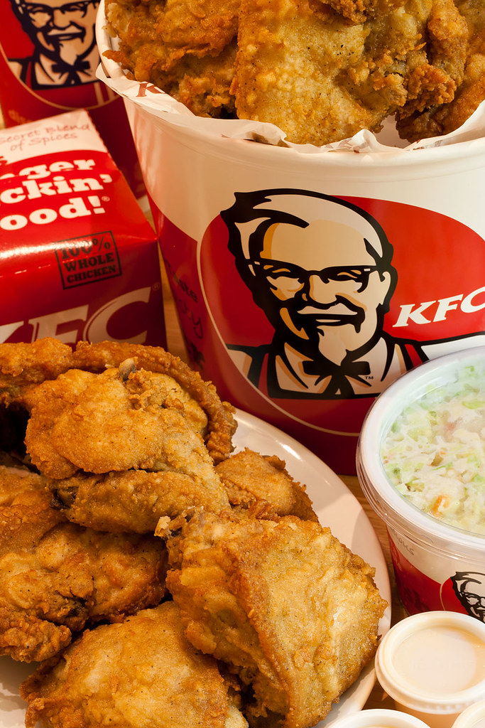 KFC كنتاكي | For some strange reason, I craved KFC today. So ...