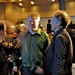 Tim O'Reilly speaks to Robert Scoble before meeting President Obama at Facebook Headquarters
