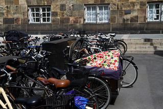 "Danish Parliament - A Fraction of the Bike Racks Outside ""Borgen"" 