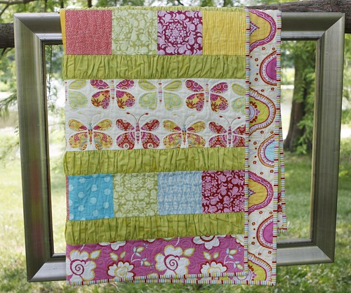 Ruffle Crush Baby quilt | by vickivictoria