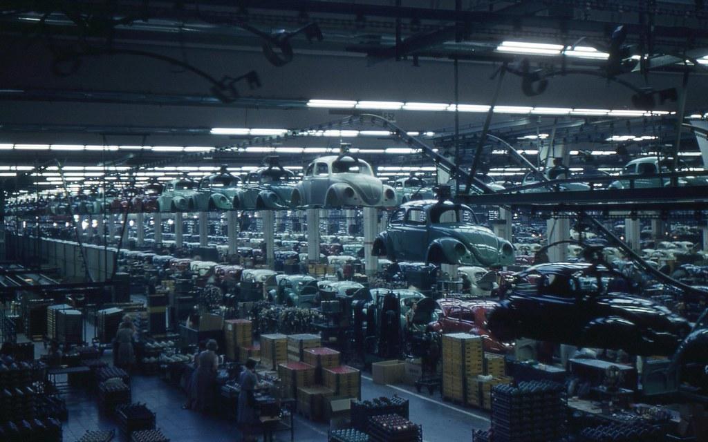 Wolfsburg Inside The Volkswagen Plant A View Inside