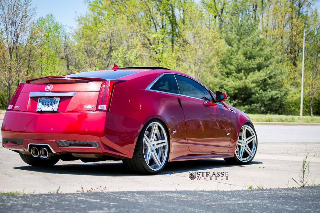Strasse Wheels Cts V Coupe 21 Inch Sp5 R Deep Concave