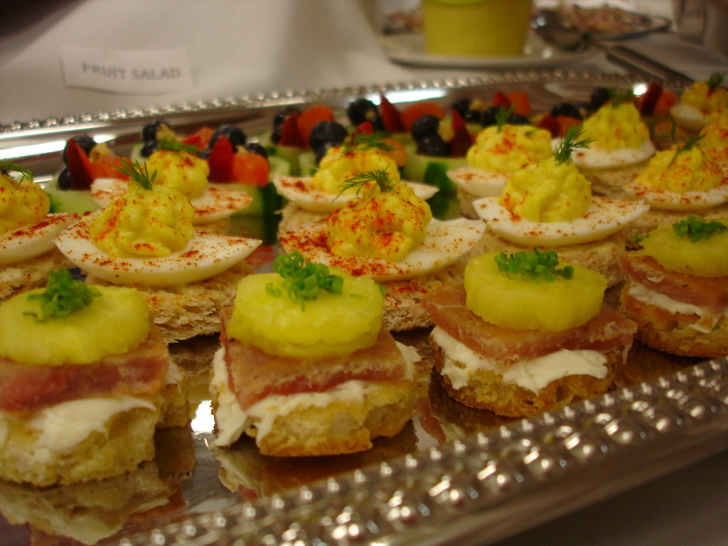 garde manger canape closeup my table did a spring theme f flickr. Black Bedroom Furniture Sets. Home Design Ideas