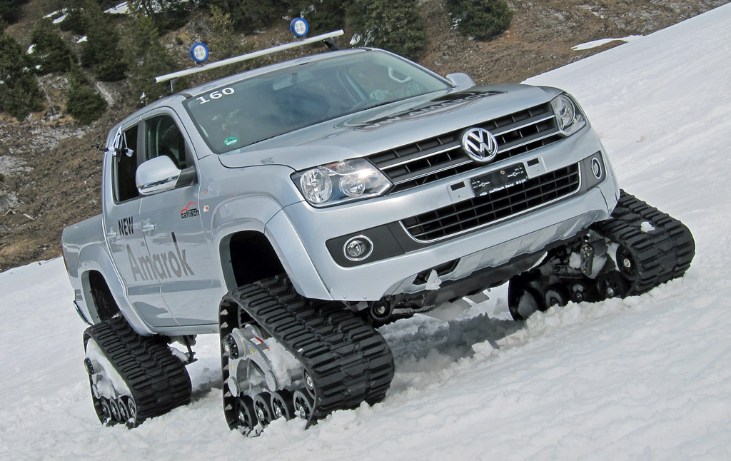 Vw Amarok Modified >> Tracked VW Amarok at Flims / Laax, Switzerland | Great vehic… | Flickr
