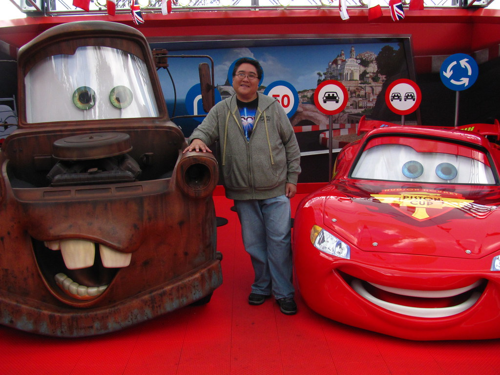 Cars  Mater And Holley