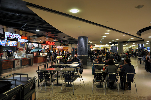 Eaton Centre Food Court Montreal