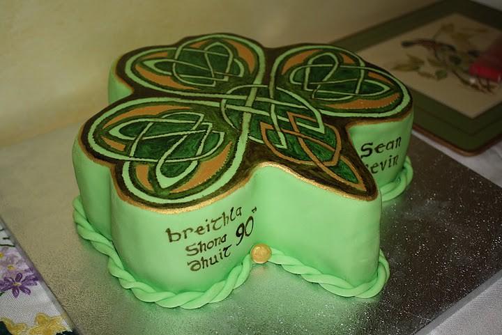 Celtic Birthday Cake