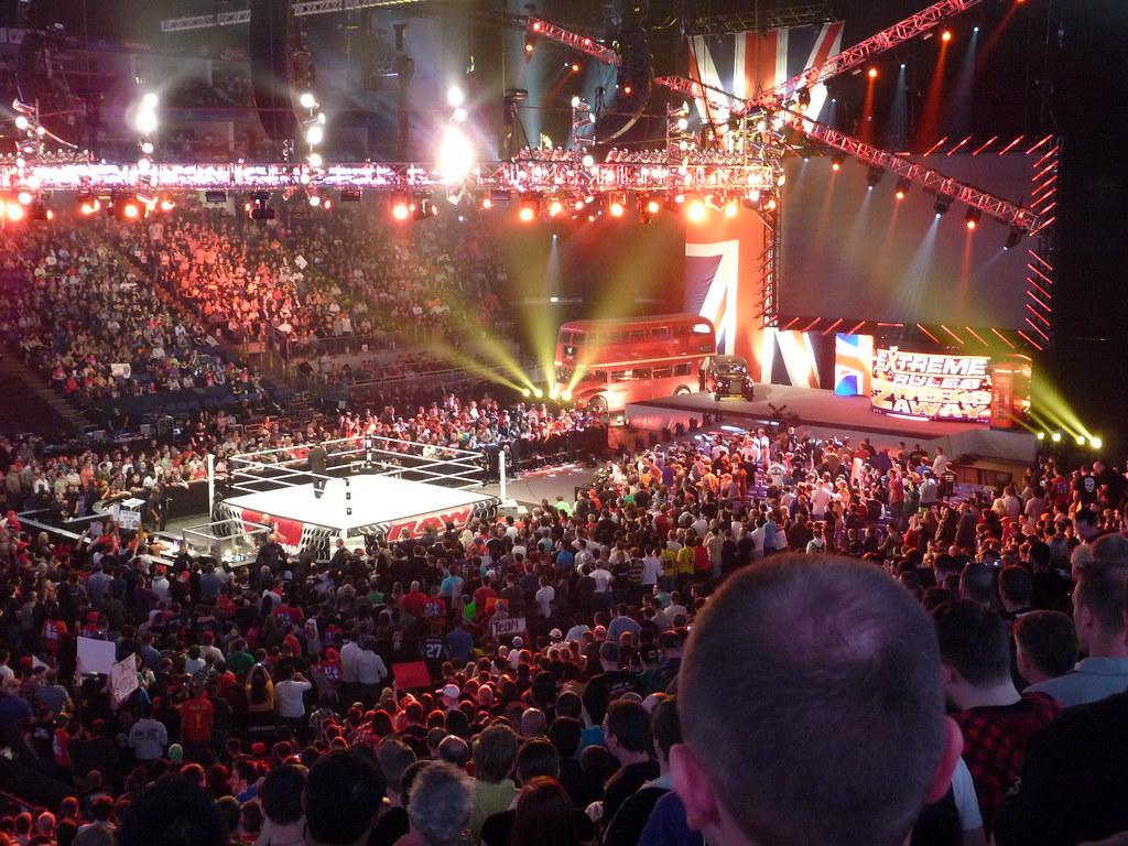Wwe Raw Live O2 Arena Simon Q Flickr