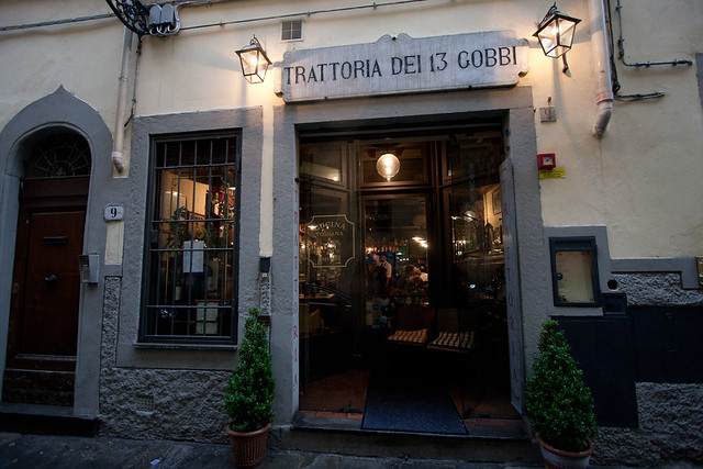 Trattoria dei 13 Gobbi - Firenze