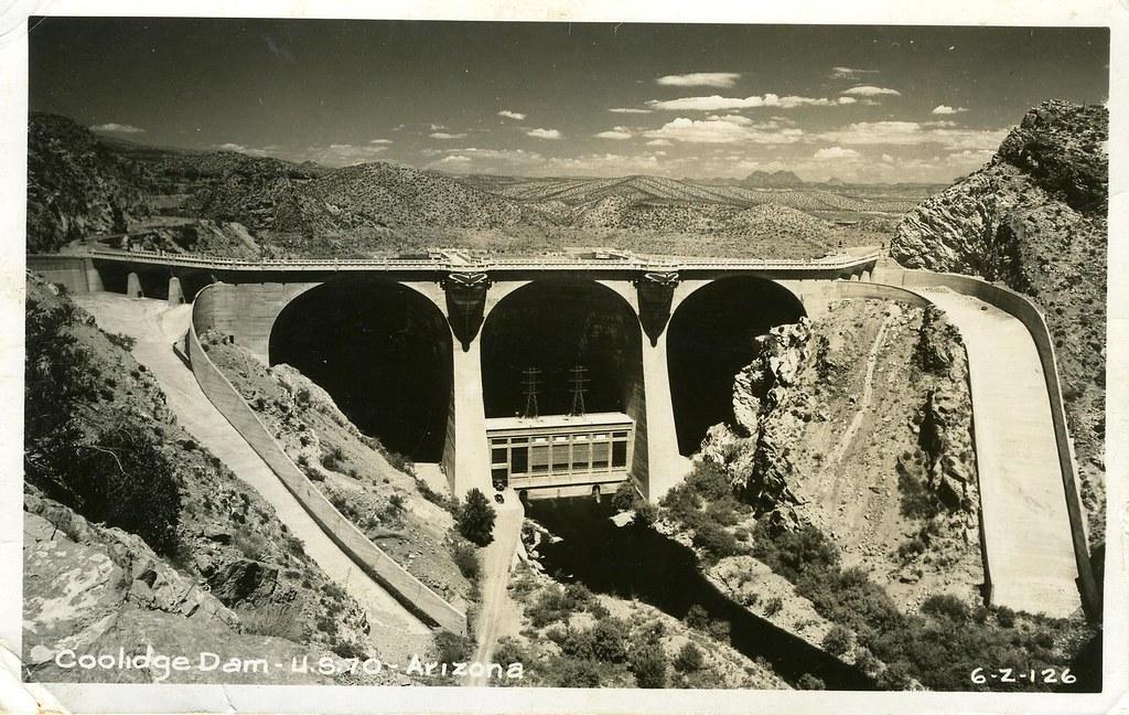 Arizona A 0009 Coolidge Dam Image Title Coolidge Dam