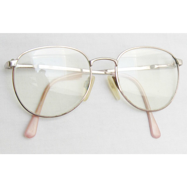 Wire Frame Glasses Vintage : 1980s wire frame vintage glasses Flickr - Photo Sharing!