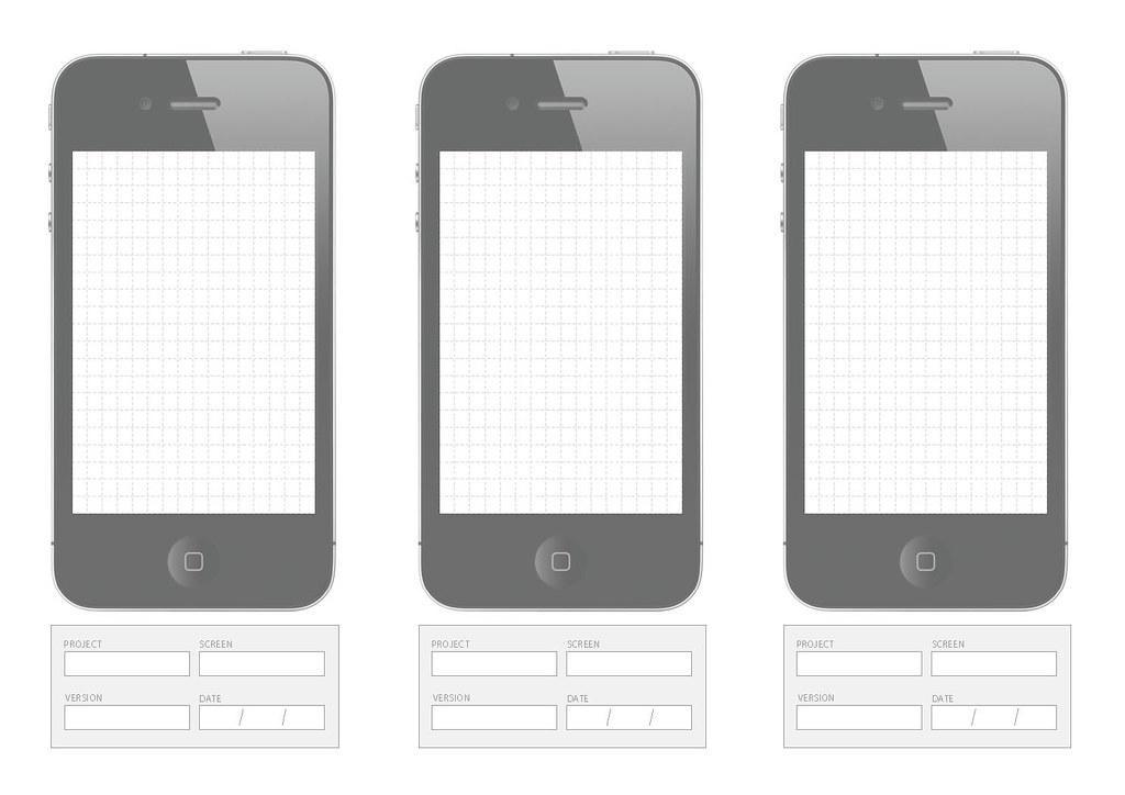 Iphone wireframe being old school i much prefer to sketch flickr pronofoot35fo Choice Image