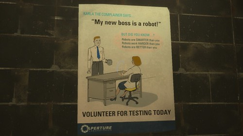 """My new boss is a robot!"" 