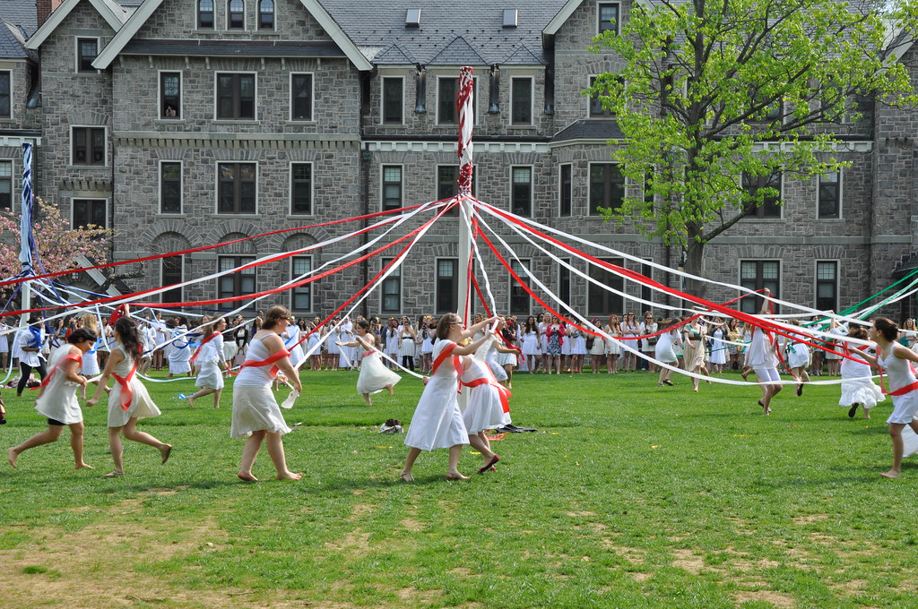May Day >> Bryn Mawr College: May Day 2011 | 2011 May Day Celebration a… | Flickr