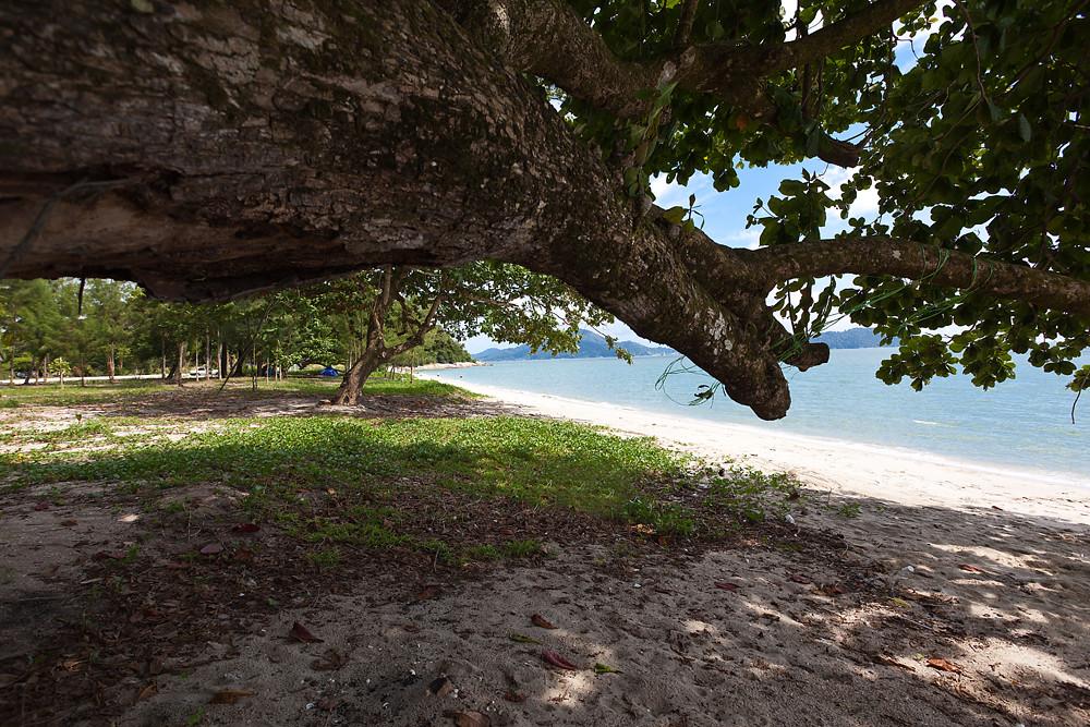 Teluk Senangin Beach Teluk Senangin Beach Is Located