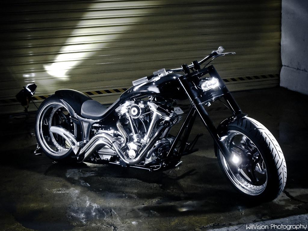 M 3d Logo Custom Yamaha 1600 Wil...