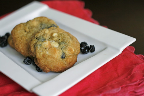 Blueberry White Chocolate Cookies | by Sarah :: Sarah's Cucina Bella