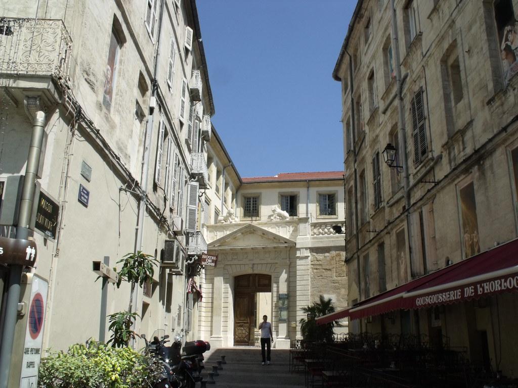 Avignon place de l 39 horloge maison jean vilar the next flickr - Maison jardin assisted living avignon ...