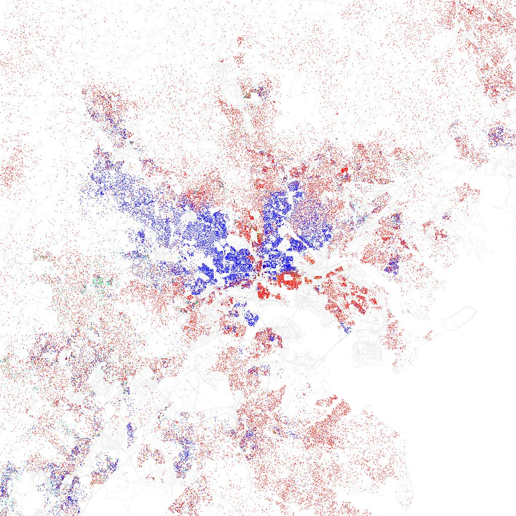 race and ethnicity 2010 baltimore maps of racial and