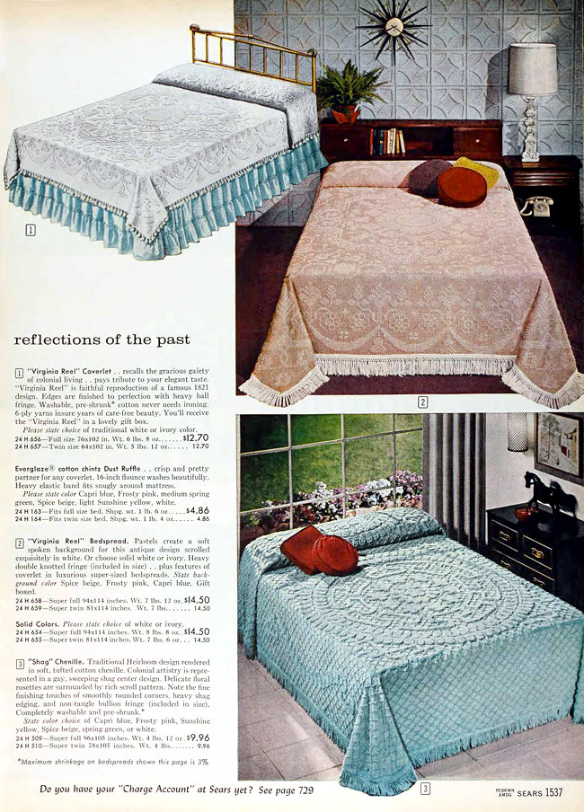 Sears 1960 fall catalog bedroom furniture bedding flickr Sears home bedroom furniture