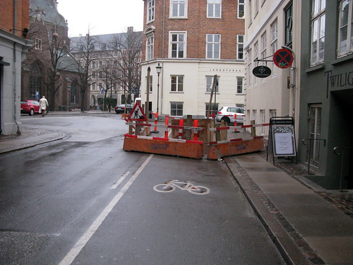 Roadworks Exception to the Rule | by Mikael Colville-Andersen
