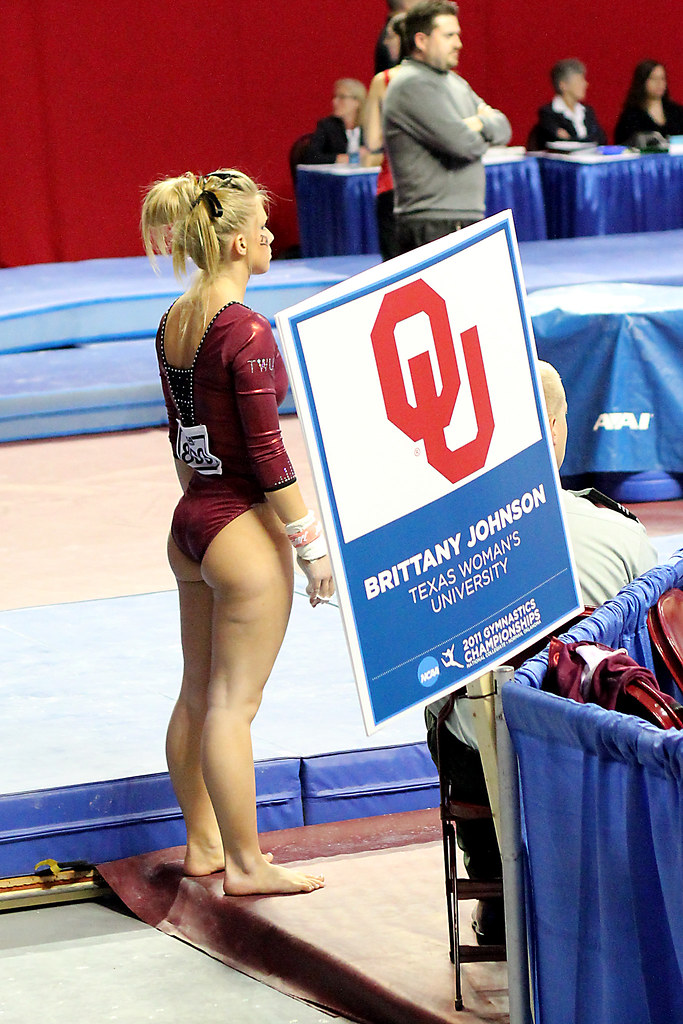 Gymnast With Huge Ass