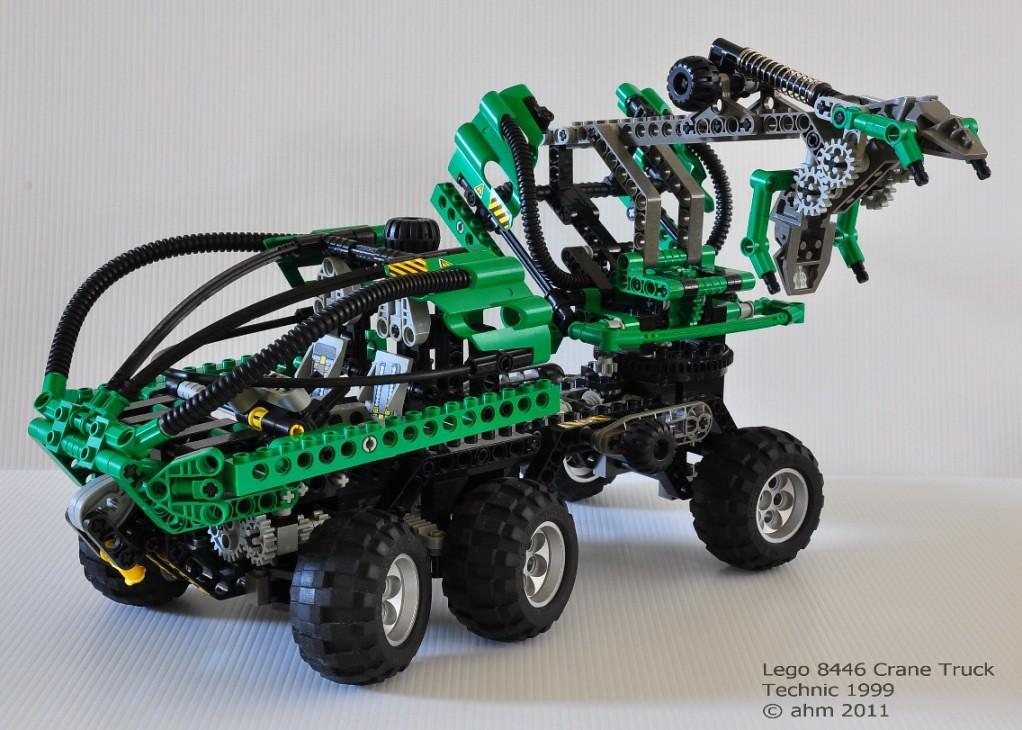 Lego Crane Truck Lego Technic 8446 Crane Truck