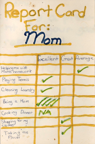 A Mother's Day Report Card | by passiveaggressivenotes