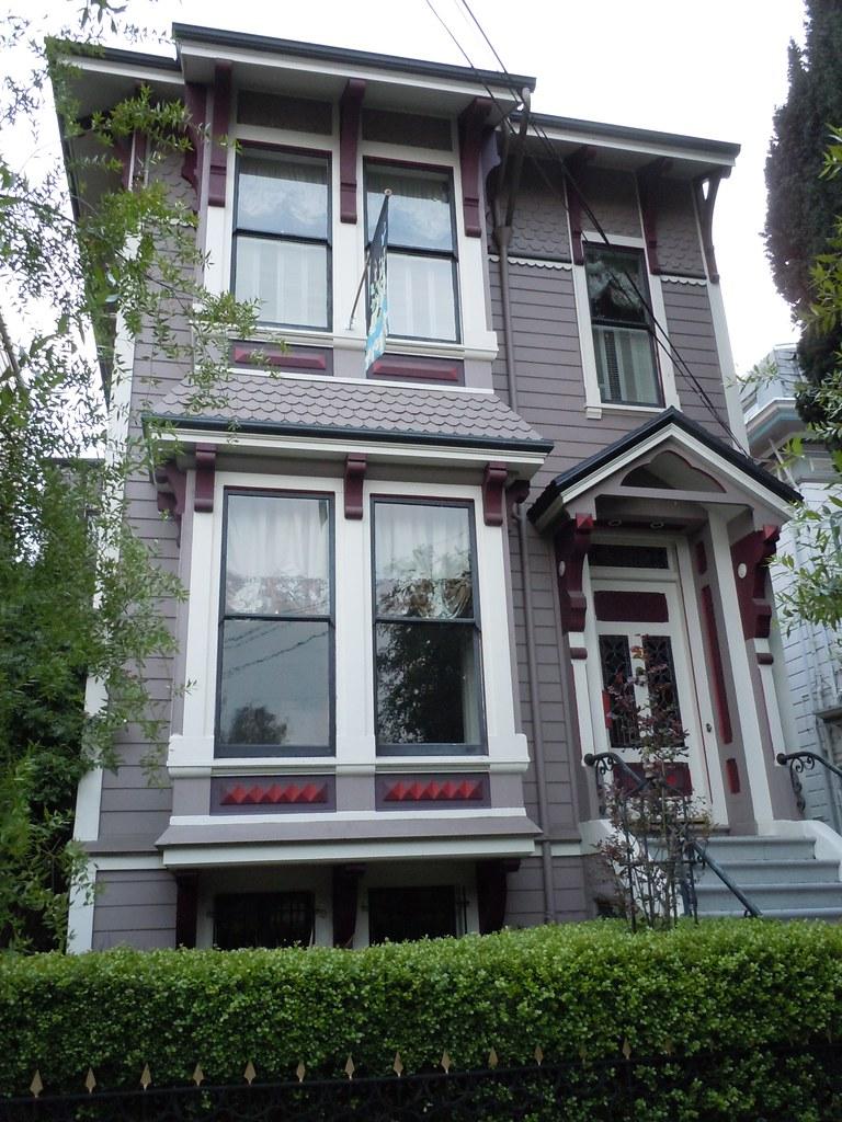 Stick Eastlake Style House Fair Oaks Street