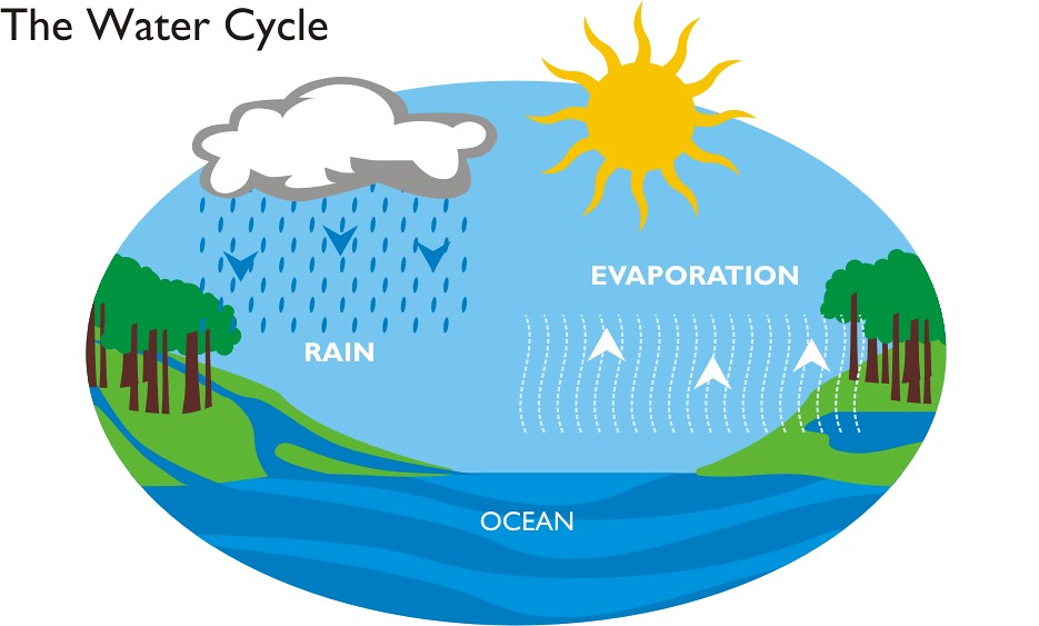 Climate Change and Weather for Dummies | The Liberal Zombie  |Rain Cycle Easy