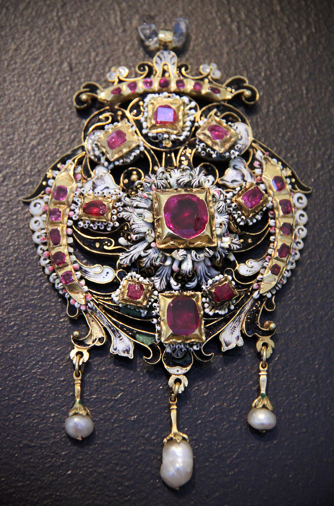 Bethlen Pendant Hungary 17th Century Museum Of Applied Flickr