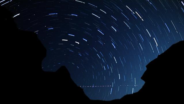 tokyo star trails