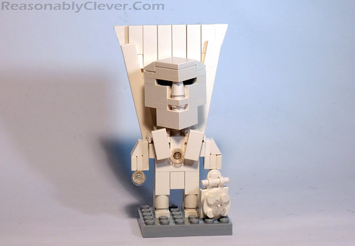 white lantern deadman cube dude | by Reasonably Clever Chris