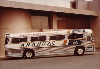 Autobus Dina Anahuac