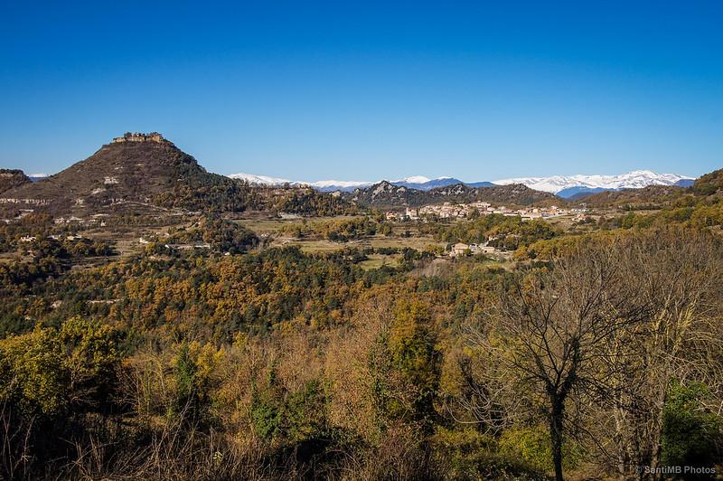 Santa Maria de Besora y el castillo