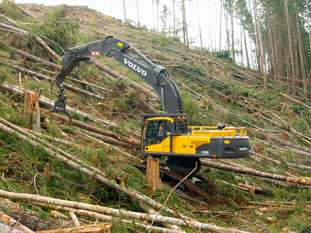 Volvo FC3329C Forestry Harvester | With the introduction ...