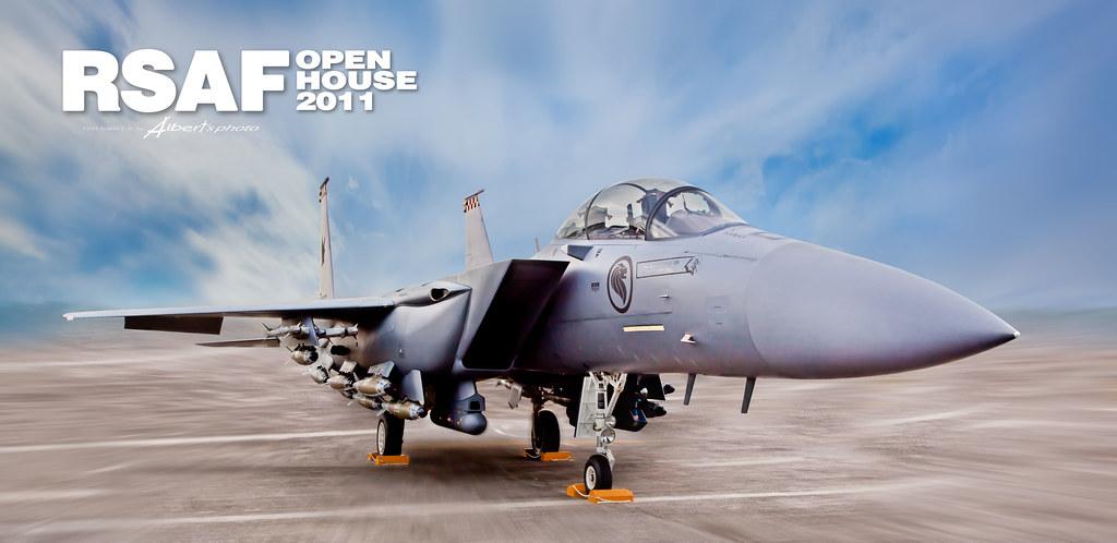 F 15 Singapura Singapore RSAF open ho...