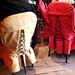dining chairs at Masoch Café
