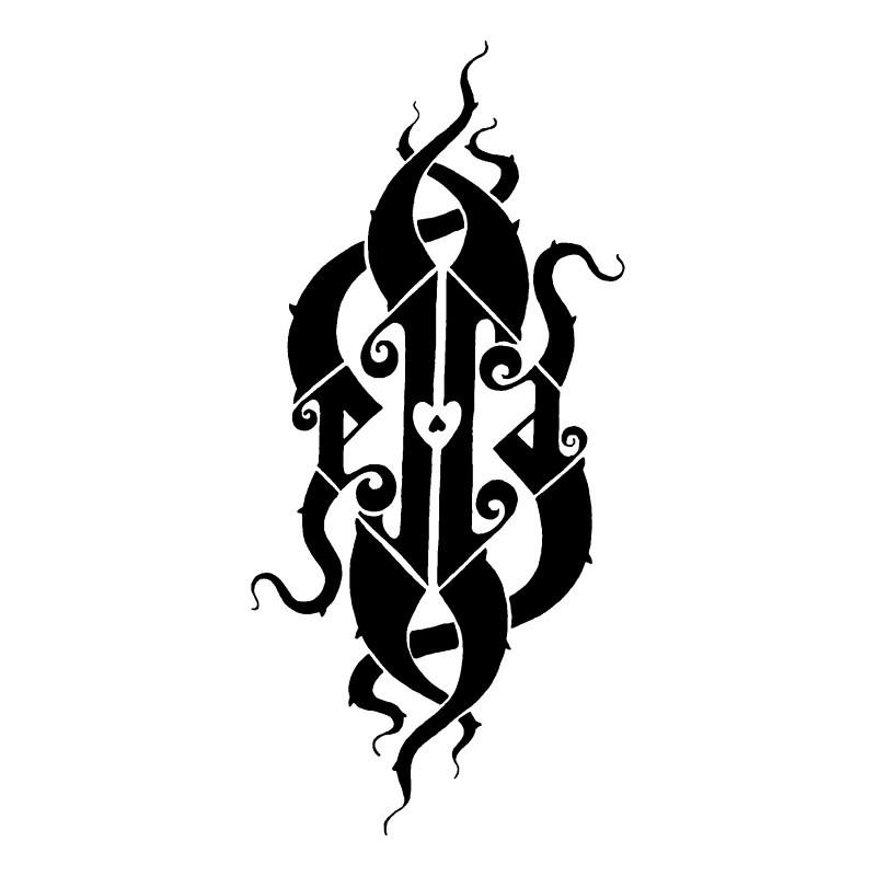 ella ambigram designed for my lil