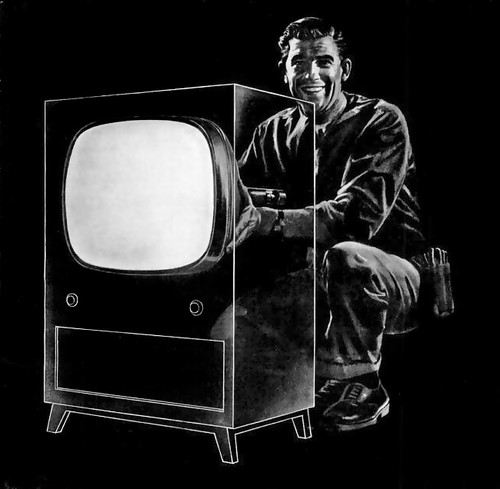 1955 ... invisible TV! | by x-ray delta one