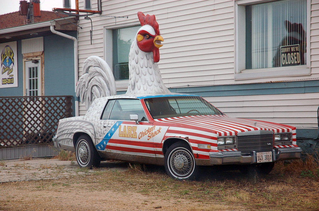 G Chicken Freeport Il Chicken Car, Freeport,...