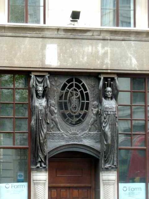 P1190544 art nouveau london flickr photo sharing - Modern art nouveau architecture ...